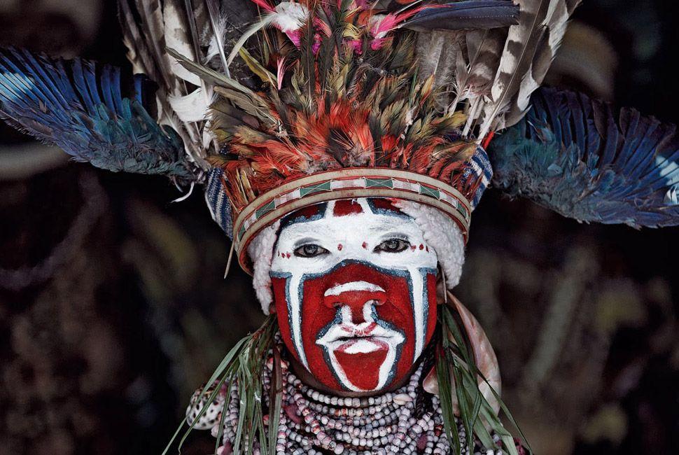 Goroka tribe of Indonesia and Papua New Guinea