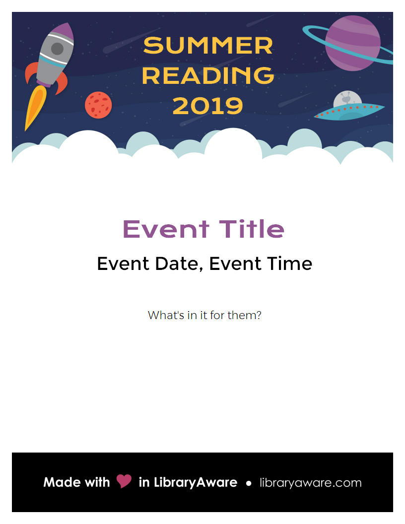 Plan out of this world summer reading programs at your