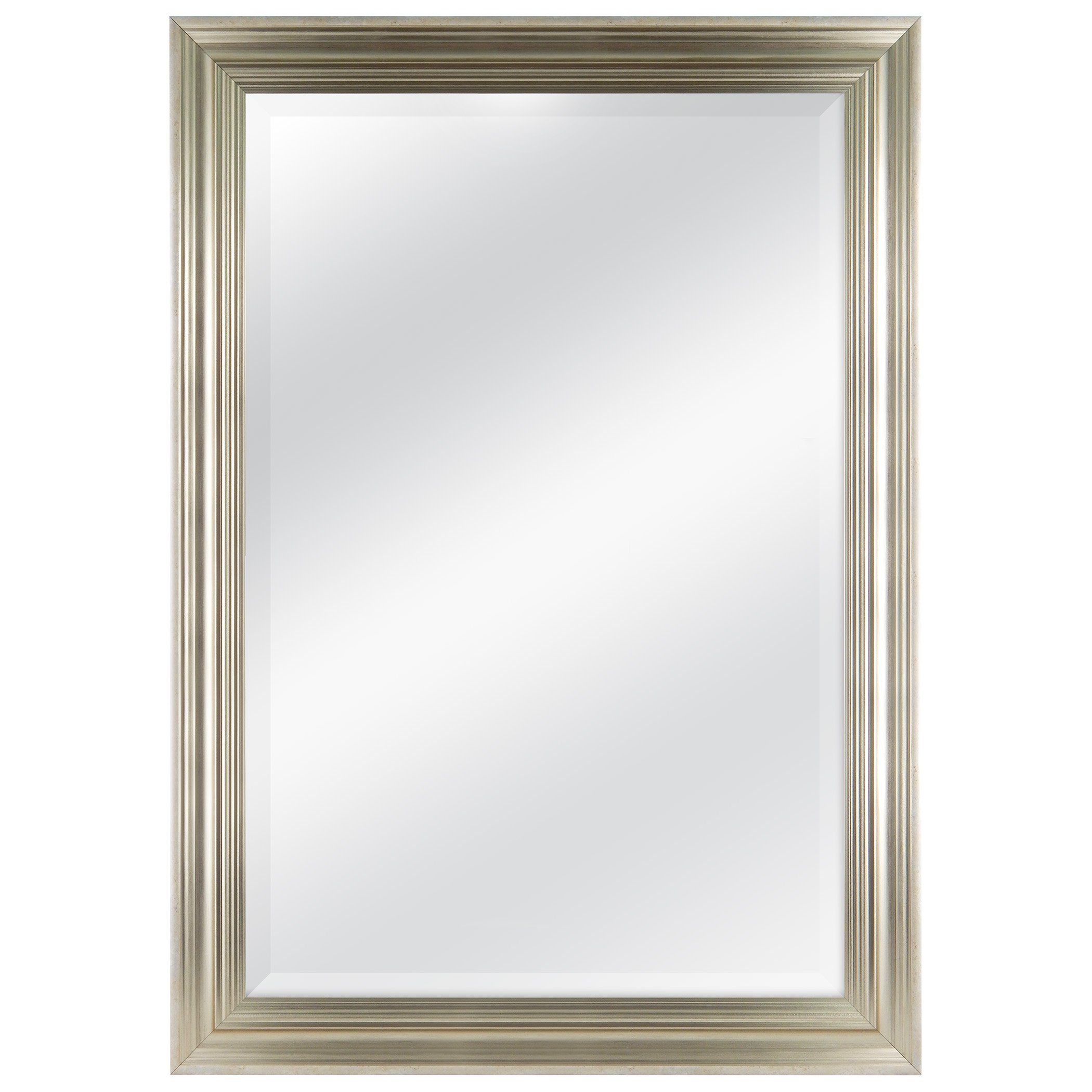 MCS 29.5x41.5 Inch Frame with 24x36 Inch Scoop Mirror, Champagne ...