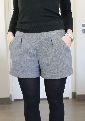 Winter Chataigne by Sophie Crespy | Project | Sewing / Pants & Shorts | Kollabora
