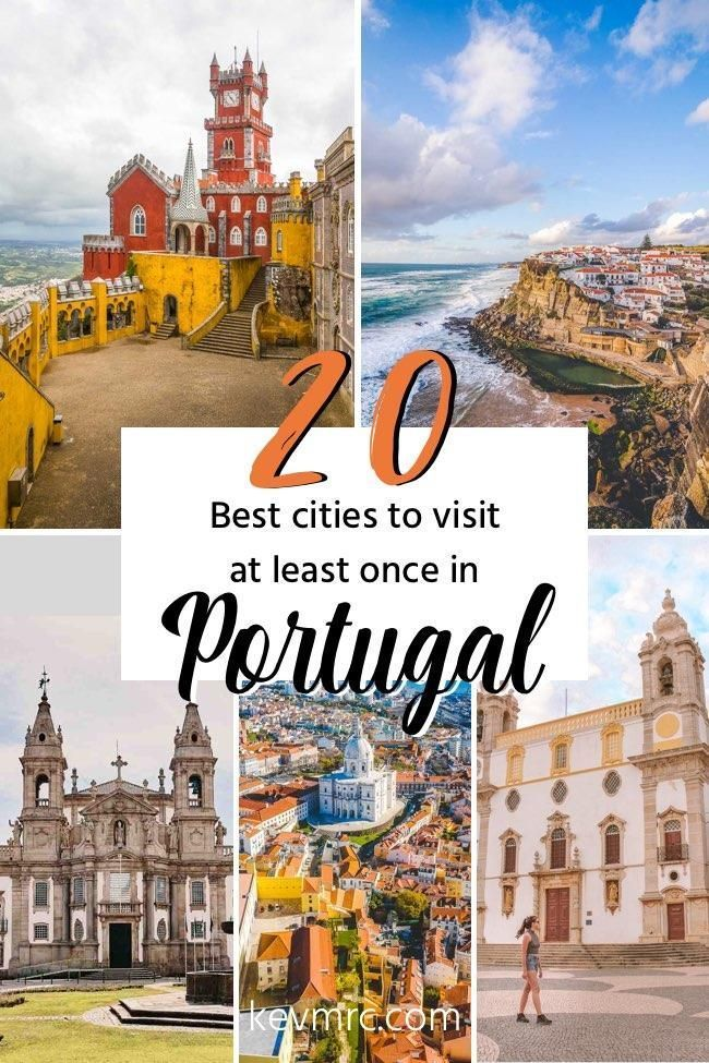 The 20 BEST Cities in Portugal + What to Expect There (with photos & tips) #bestplacesinportugal