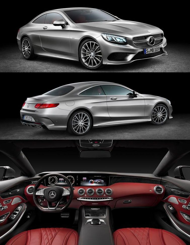 Take a look at the all-new 2015 Mercedes-Benz S-class Coupe Photos and Info (Car and Driver http://ow.ly/twrId)