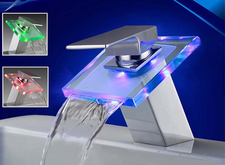 LED Vanndrevet Blandebatteri :: Sale Solution | Badet | Pinterest