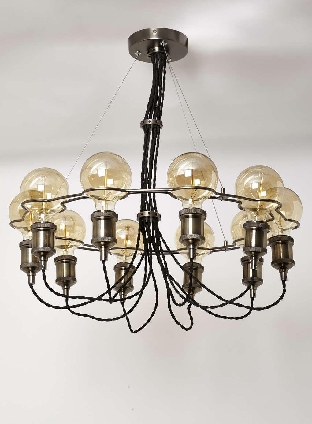 Copper Soho Chandelier - View All Lighting & Bulbs - Home, Lighting ...
