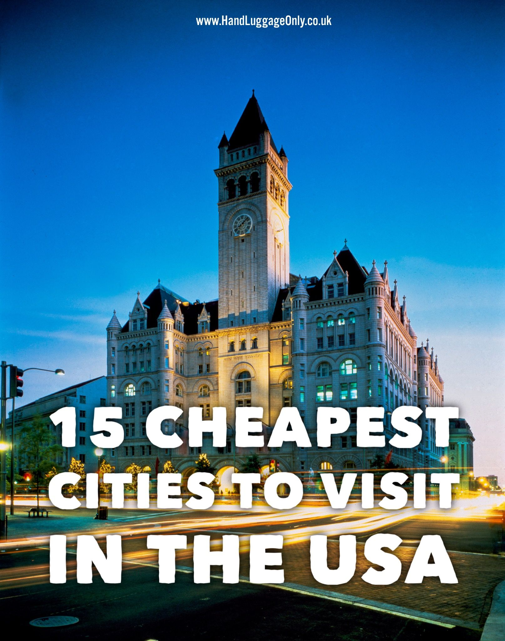 15 of the cheapest cities in the usa that you need to visit