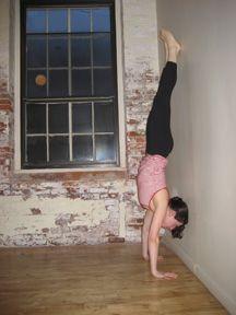 strike a yoga pose handstand trick  yoga fitness yoga