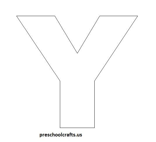 Letter y crafts Preschool Crafts
