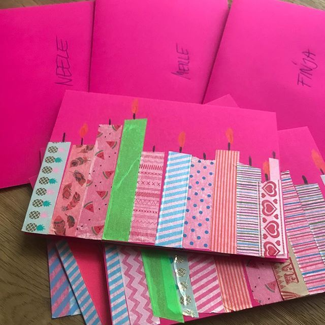 Photo of Make your birthday invitations yourself!