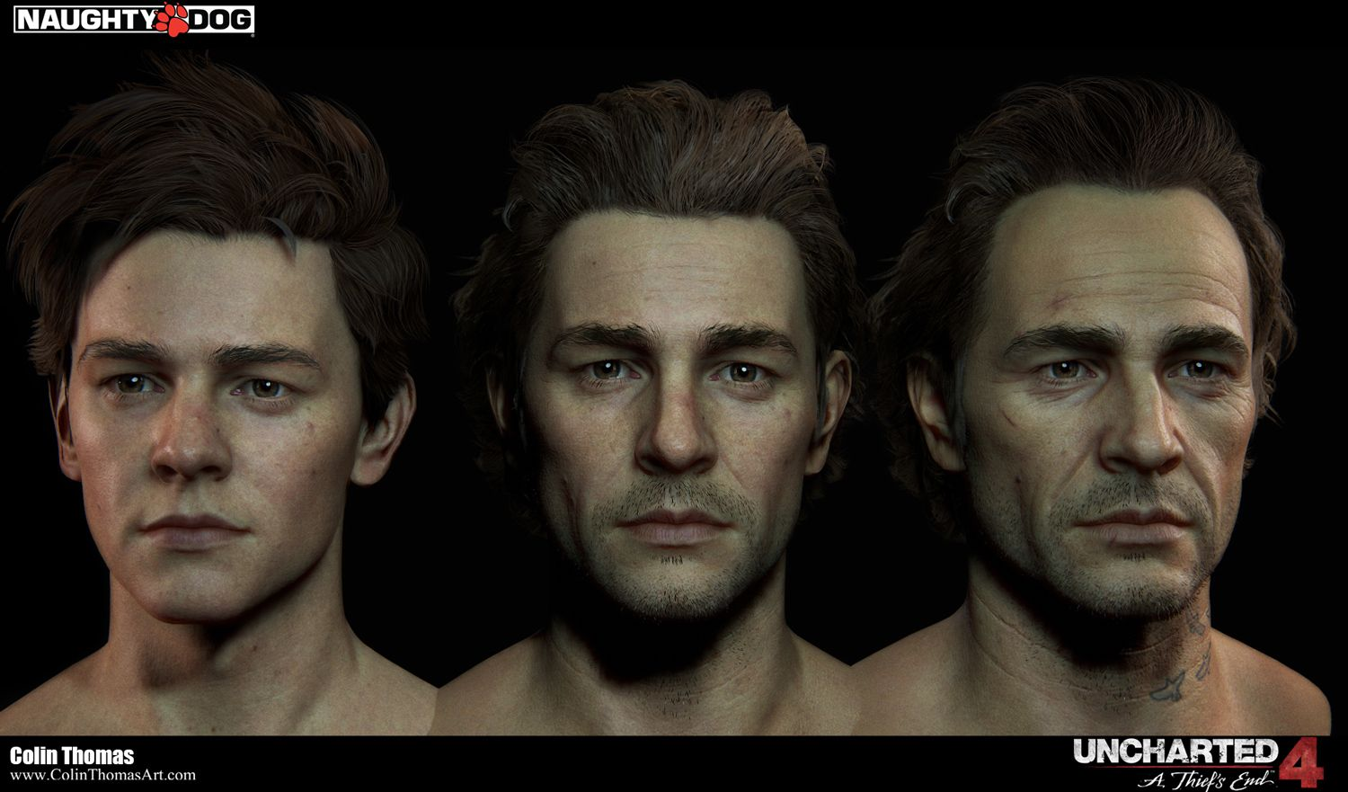 Uncharted 4 A Thief S End Characters Art Dump Page 2
