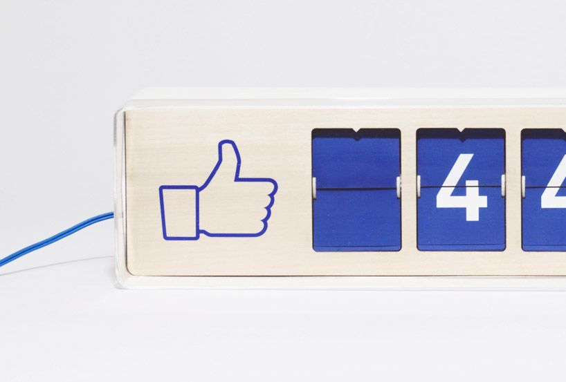 fliike real-time facebook like counter by smiirl | Details in ...