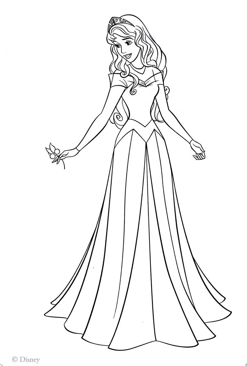 Disney Coloring Pages Aurora Printable Coloring Pages Ideas