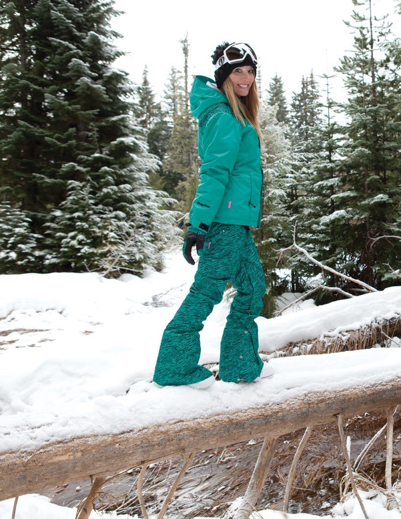 Betty Rides Wildcat Jacket And Pants Snowboarding