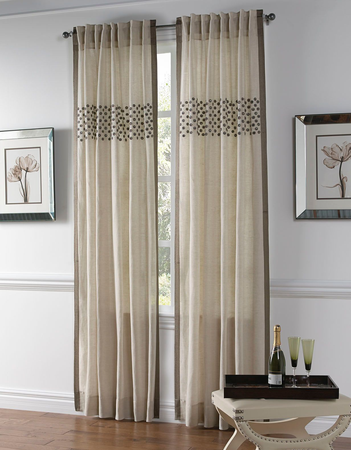 Cloud9 Design Aken Drapery Panel Panel Curtains Curtain Single Panel Curtains