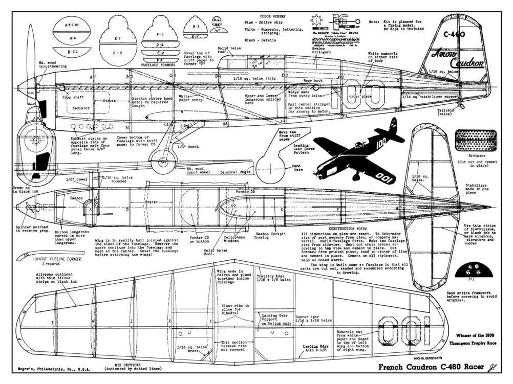 thompson spitfire schematic