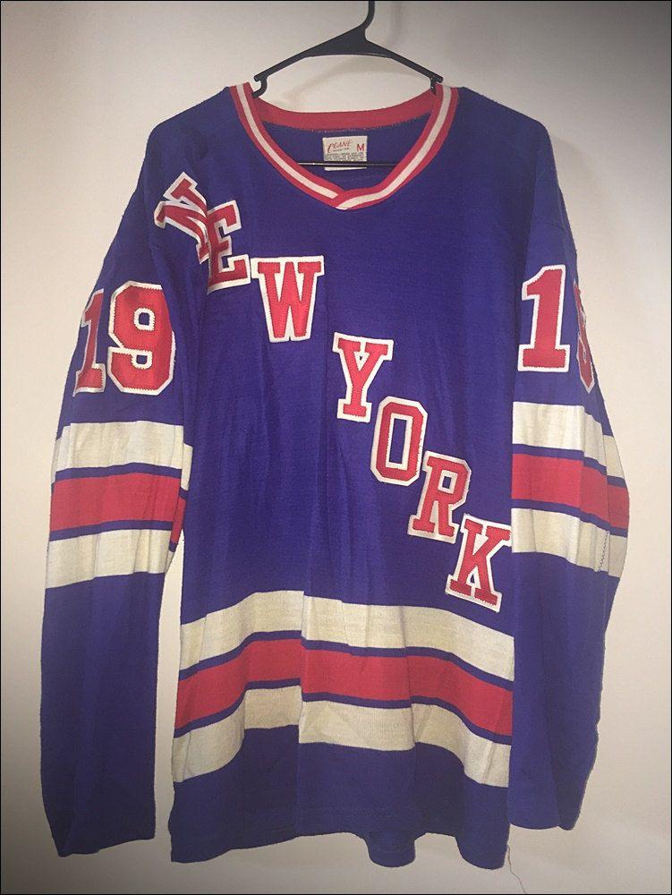 Vintage 70 s New York Rangers Tru Play Replica NHL Hockey Jersey Sweater by  RackRaidersVtg on Etsy 766c0c02d