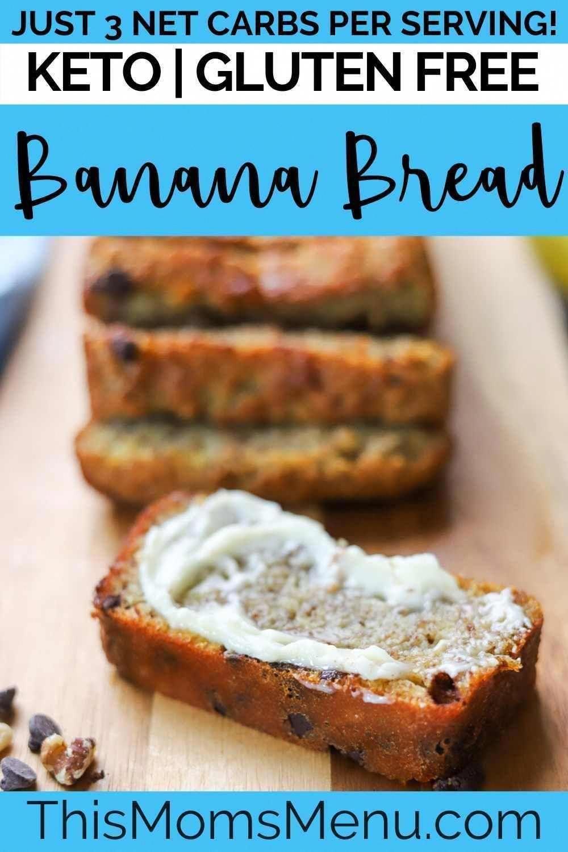 Keto Bread Recipe With Sour Cream Ketobreadwholefoods In 2020 Keto Banana Bread Quick Keto Breakfast Low Carb Snacks