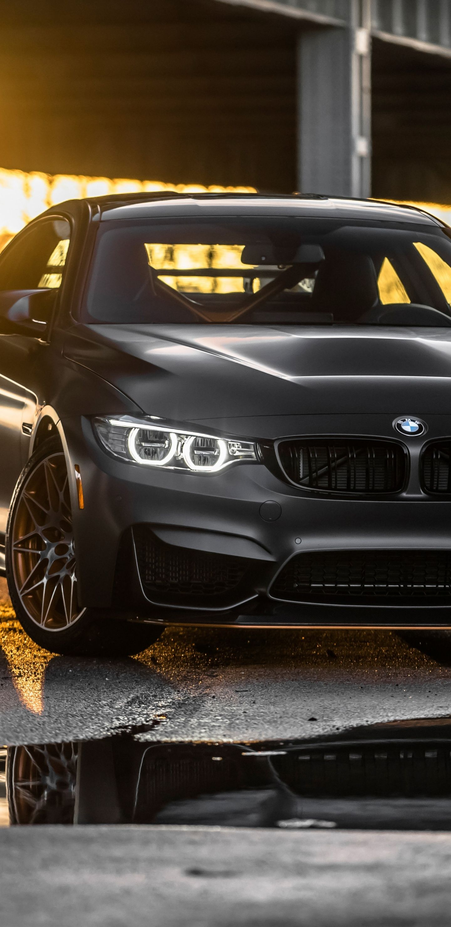 Bmw M4 Gts Black Luxury Car 1440x2960 Wallpaper Carros De