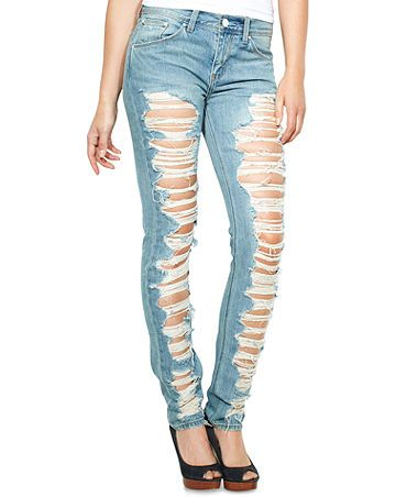 Levi's Juniors Jeans, Skinny Destroyed | Levi's i need and want ...