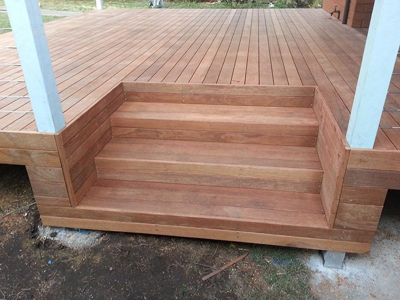 Best Pin By Organizzarespread On Front Yard Design Deck Steps 400 x 300