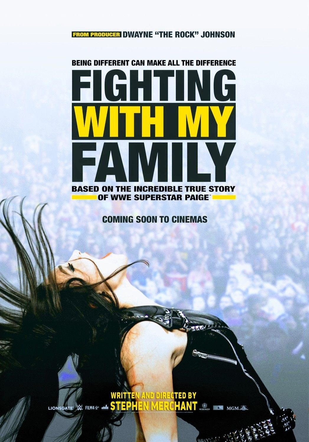 Fighting With My Family Poster 2019 Wwe Movie The Rock Film Wrestling Art Print Art Posters Art Roomburgh Nl