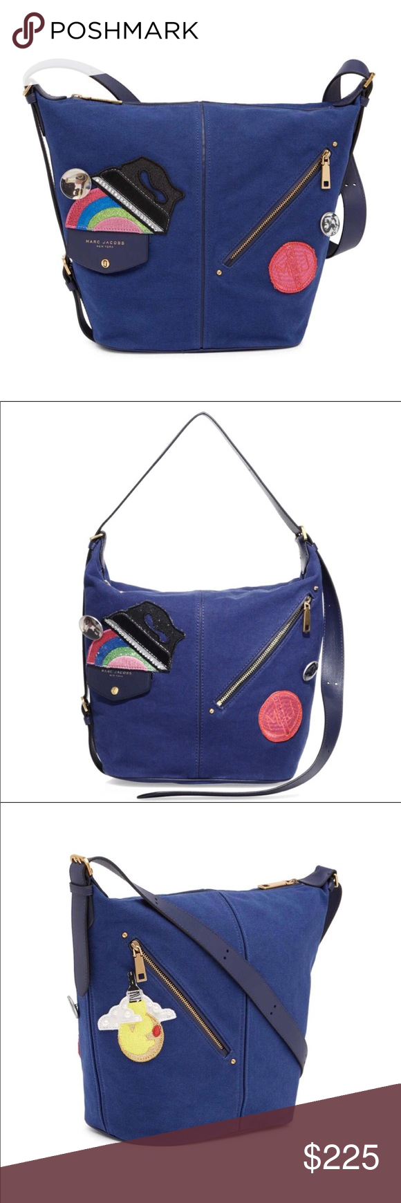 "d7e01edcdcb8 Marc Jacobs Convertible Tote ""The Canvas Sling"" Marc Jacobs Convertible  Cross Body Sling Backpack"