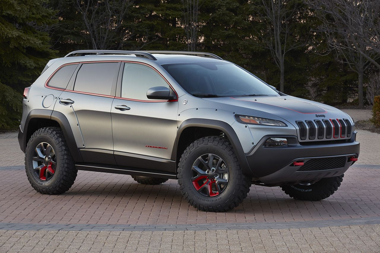 Six New Jeep Off Road Concepts That Might End Up In Showrooms Jeep Concept Jeep Cherokee Trailhawk Jeep Trailhawk