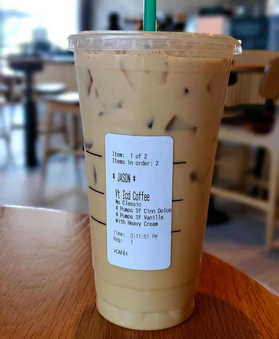 Keto Myths, My Starbucks Keto Iced Coffee & Maltodextrin