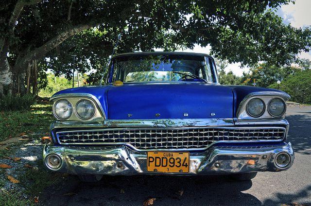 Cuban Car Car Ford Havana And Cars - Interesting old cars
