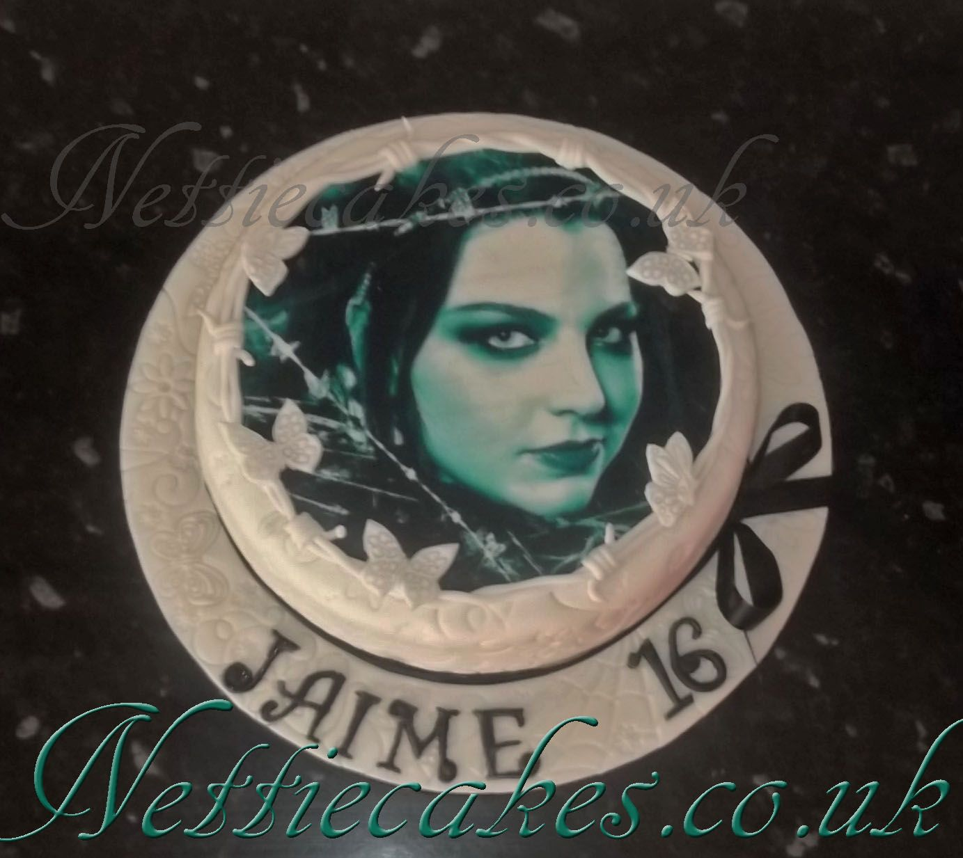 Amy Lee Evanescence Cake Cakes Pinterest Amy Lee Evanescence