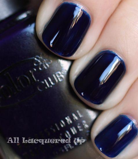 Fall 2011 Nail Polish Trend - Bold Beautiful Blues | Color club ...