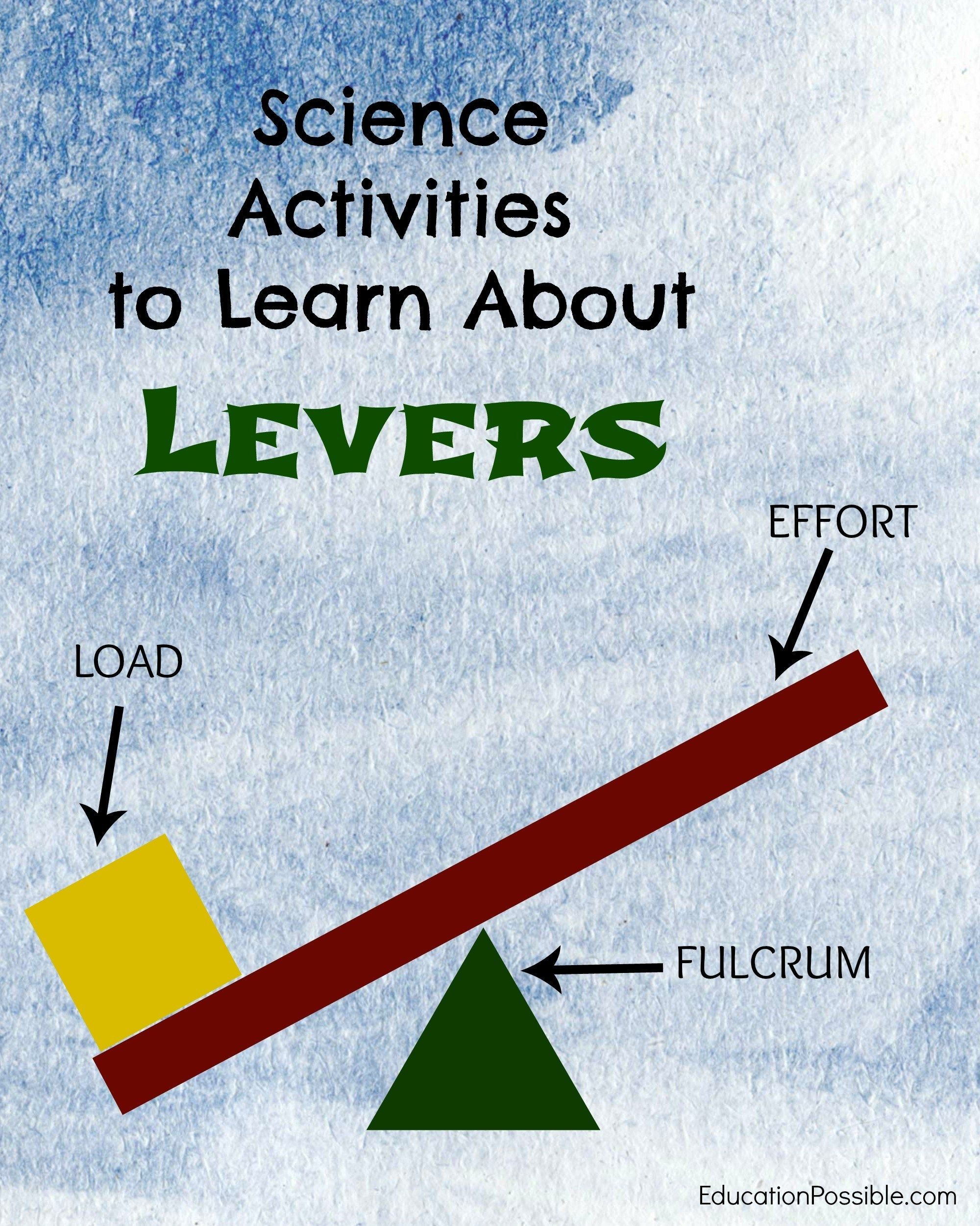 Lever Experiments For Middle School In