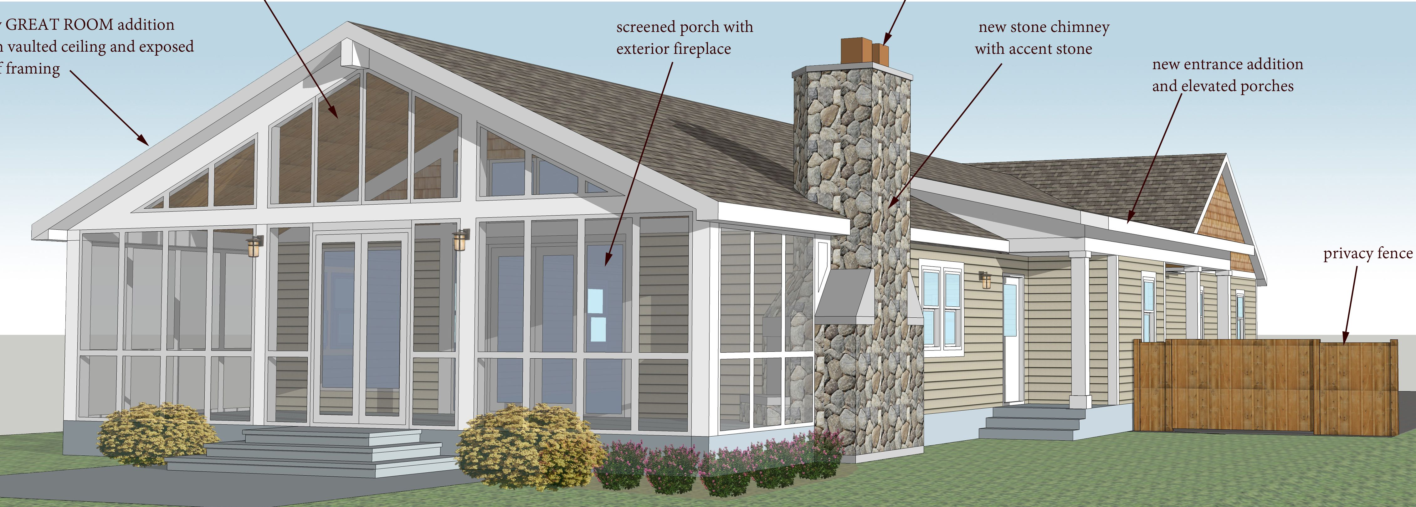 southwestern home remodeling additions lights remodeler wichita and room addition ks entrance kitchen