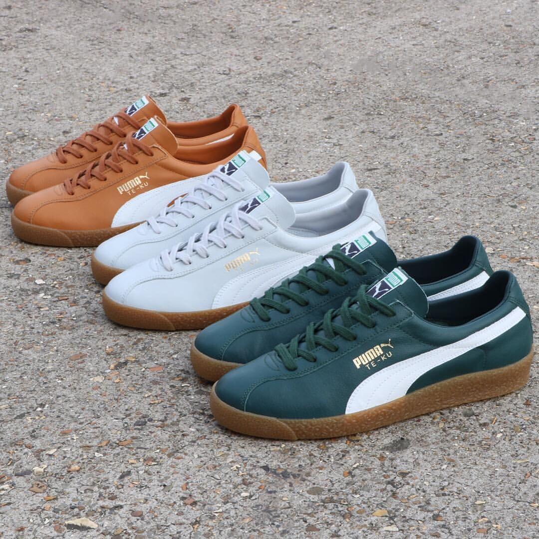 Puma Te-Ku leather | Sneakers, Puma