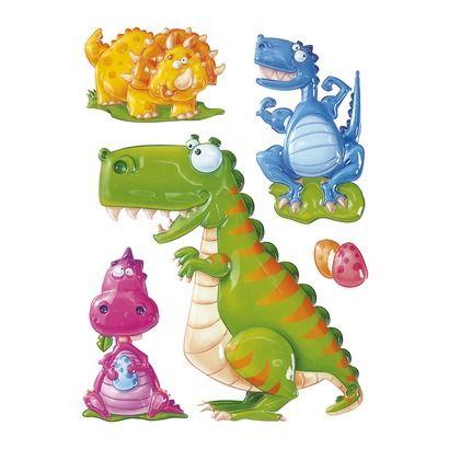 "Wandsticker ""Dinosaurier"""