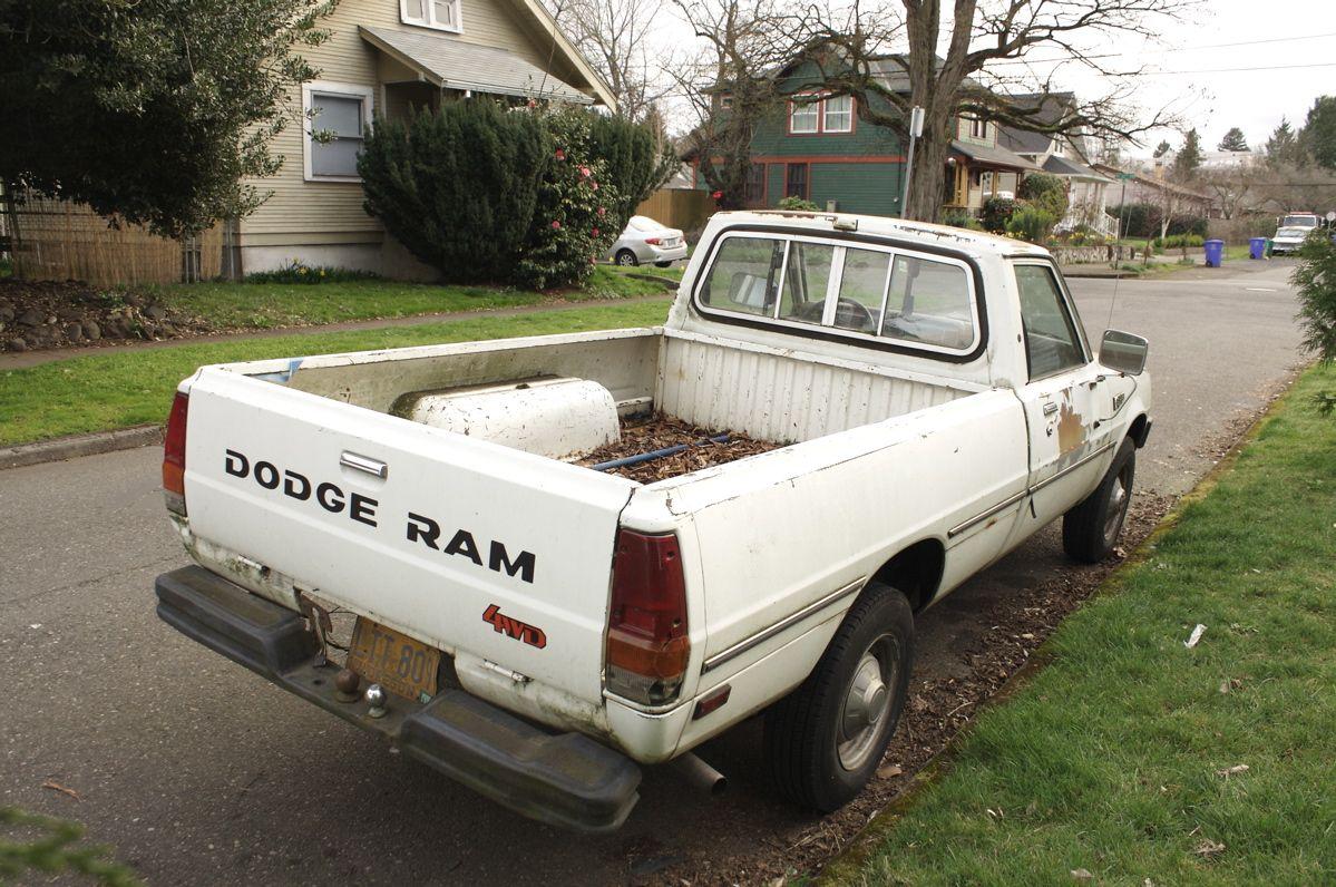 1981 dodge power ram d50 custom