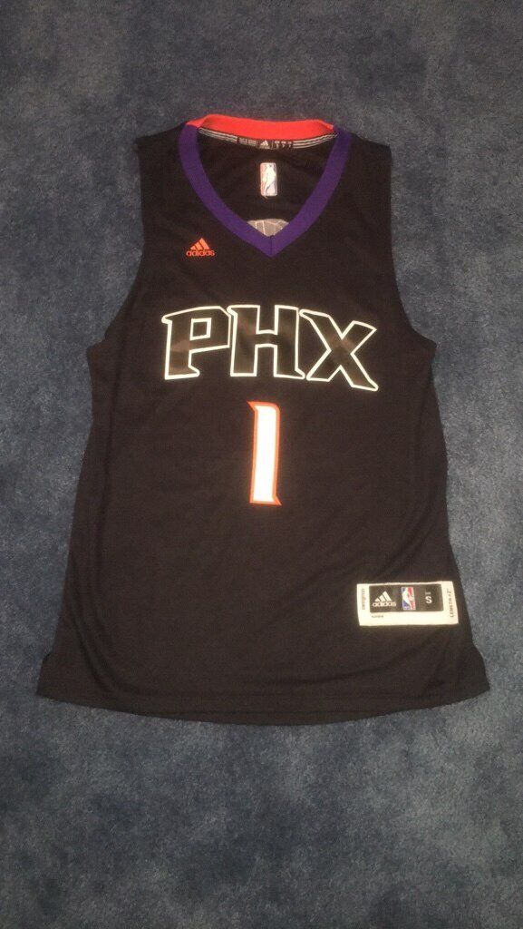 newest b65ec 943d7 Authentic Like New Devin Booker Adidas Phoenix Suns Jersey ...