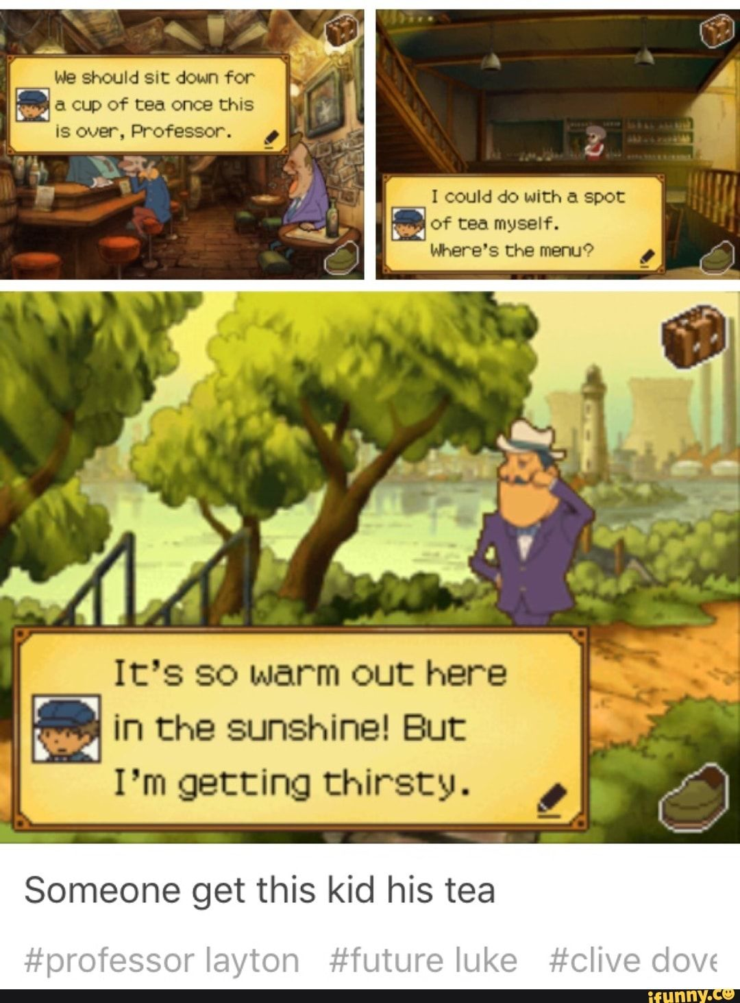 This Is Adorable Professor Layton Professor Funny Puzzles