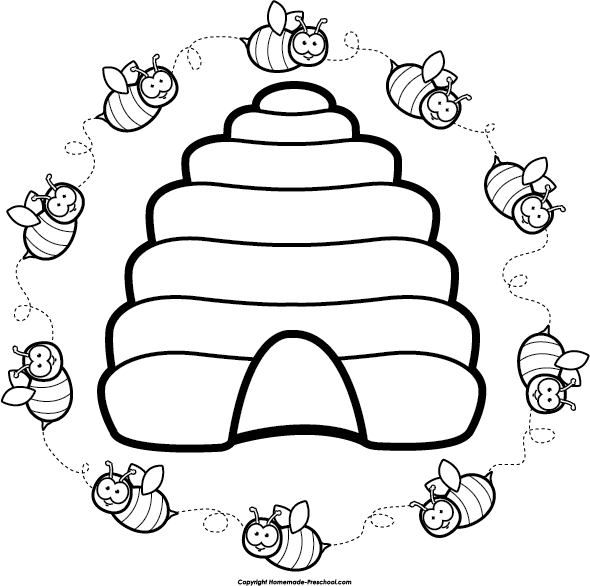 Beehive Clipart Free Images Image