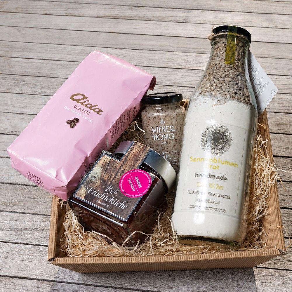 Geschenkkorb Frühstück | Geschenk Ideen | Pinterest