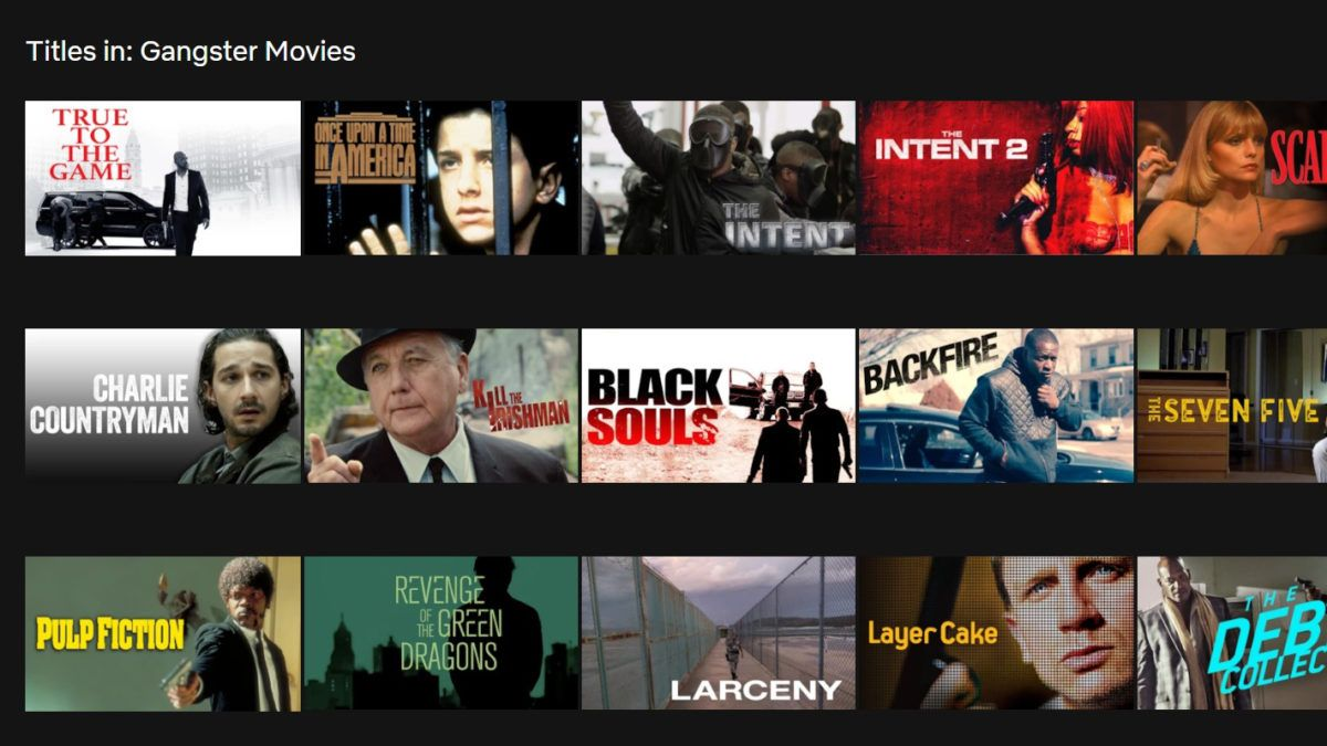 The Best Gangster Movies On Netflix Gangster Movies Gangster Films Movies
