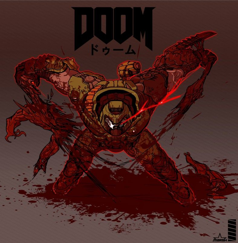 Pin By Dhawkisme On Slayer Meme In 2020 Doom Demons Doom Doom