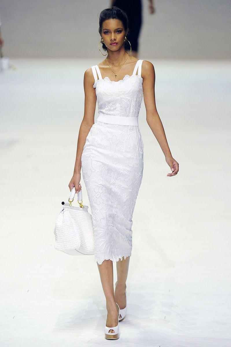 Dolce Gabbana Fashion Little White Dresses