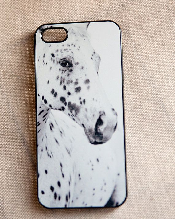 outlet store dd0e7 decca Horse Phone case, iPhone 5 cover with a horse, black and white ...