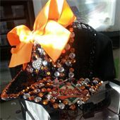 A Touch of Class Jewelry - ATC Bling It All  Baltimore Orioles cap/ hat.    Atouchofclassjewelry85.com