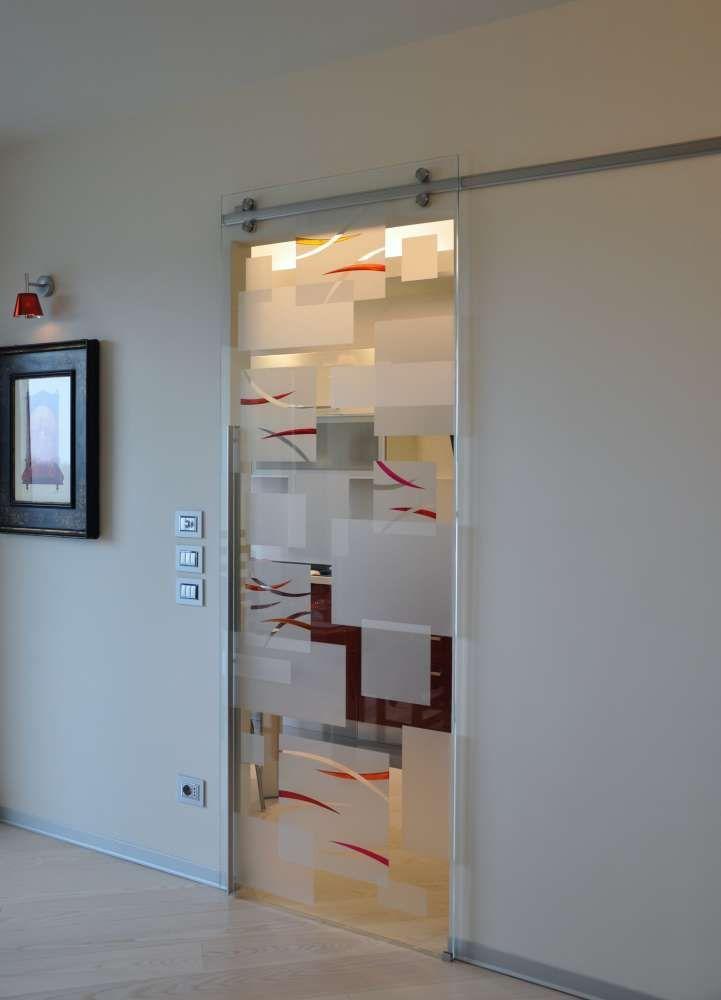 Risultati immagini per cucina porta vetro | porte vetro ...