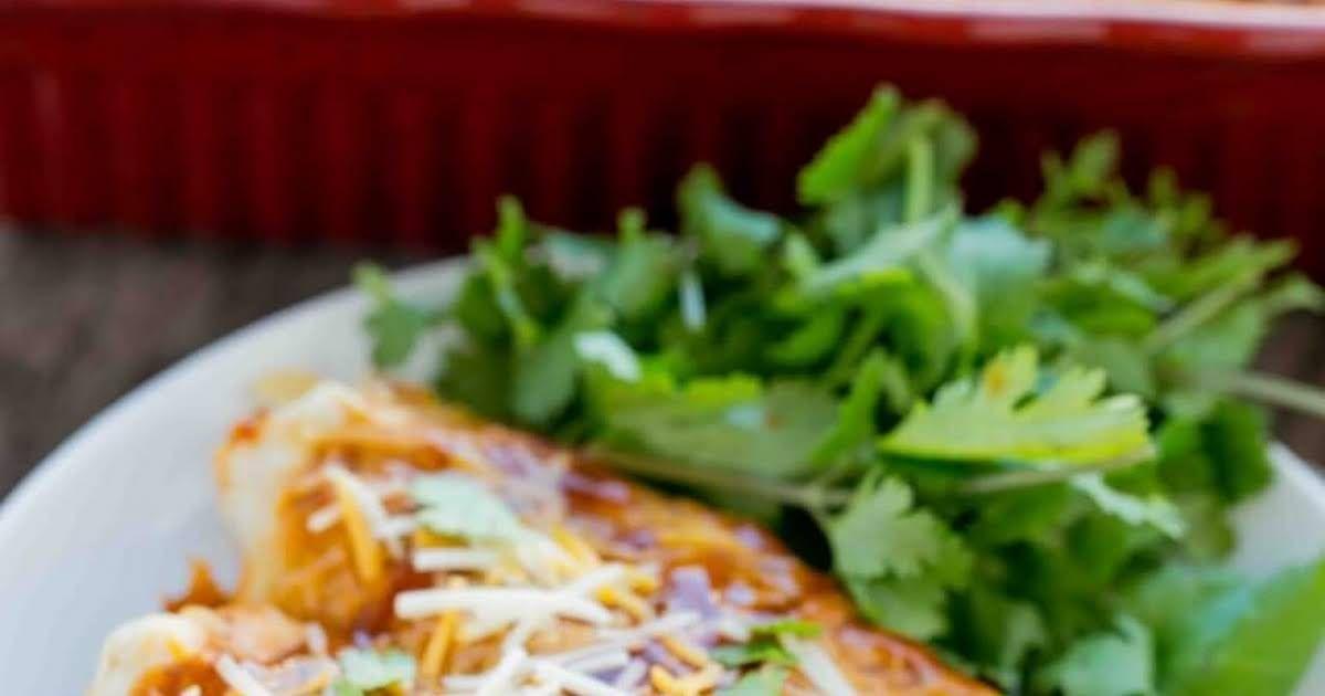 Beef And Potato Enchiladas Recipe Yummly Recipe Beef And Potatoes Enchiladas Beef