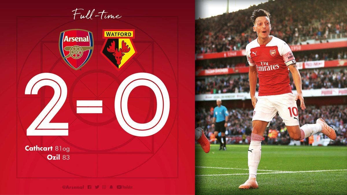 Download Video Arsenal Vs Watford Highlights Epl 2 0