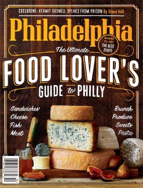 Newest Cover Philadelphia Magazine Edition Art Direction Michael Wilsonsign Painter Cantiello