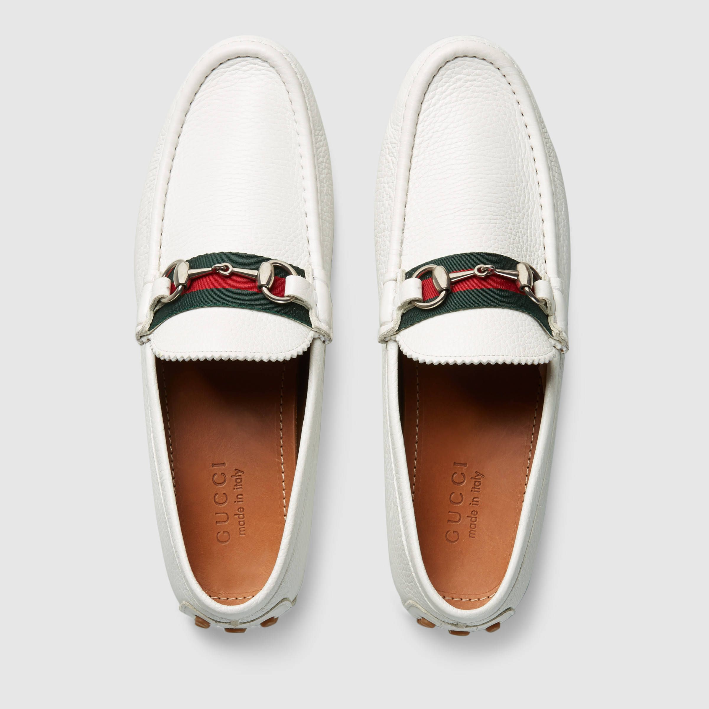 6be9ccd0 Gucci Men's Horsebit leather driver Detail 3 | shoes | Gucci men ...