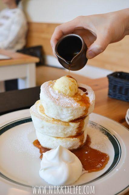 【大阪。食記】Gram:「厚度十足」無法抗拒Gram的三層Premium Pancake!